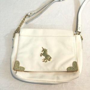 Think Geek unicorn crossbody purse